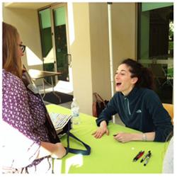 Lauren Oliver signing