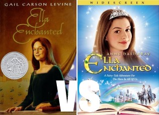 ella enchanted book vs the movie So, i've just finished ella enchanted, gail carson levine's  it's been years  since i read the book and i haven't watched the movie in a.