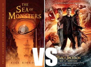 Book vs. Movie: Sea of Monsters | Mission Viejo Library Teen Voice