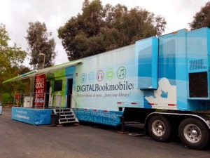 Digital bookmobile photo by Leila S.